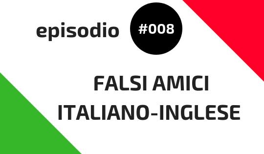Falsi amici italiano-inglese