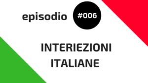 Interiezioni italiane