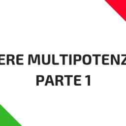 Essere multipotenziali (parte  1)