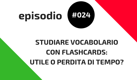 Studiare vocabolario con flashcards (1)
