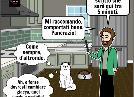 italian coach comic