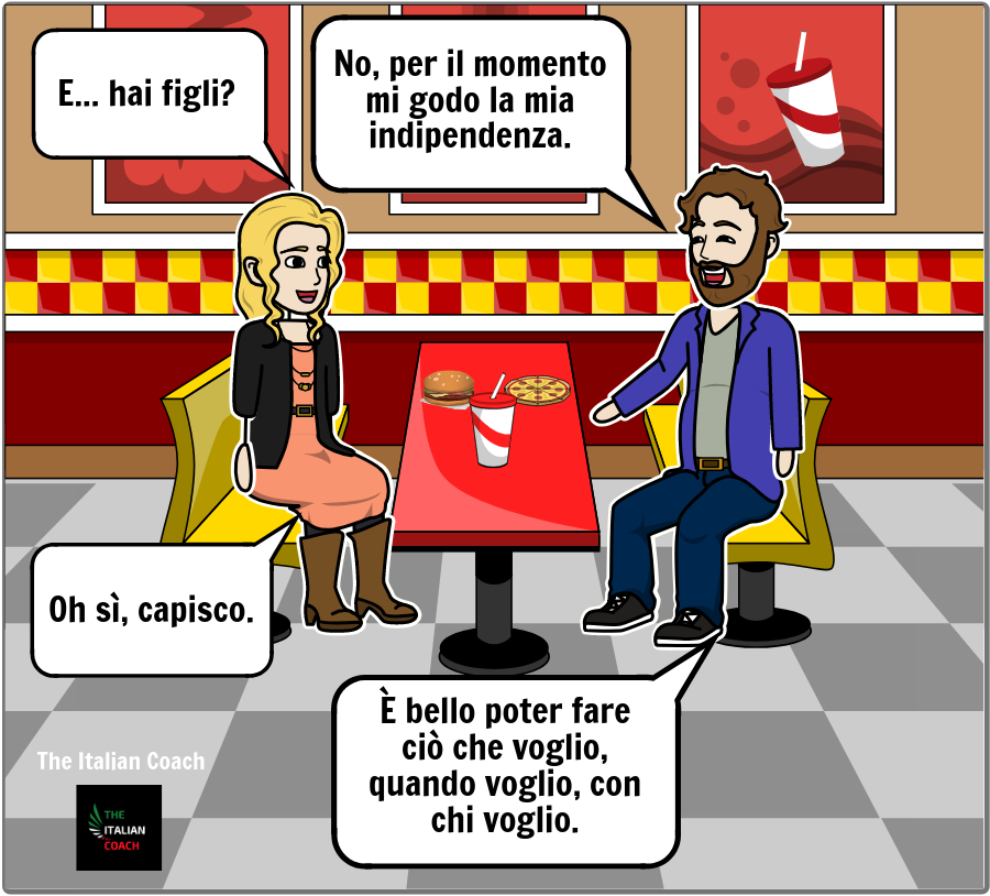 Italian Coach comics