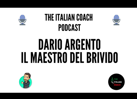 Episodio 30 Dario Argento - The italian coach