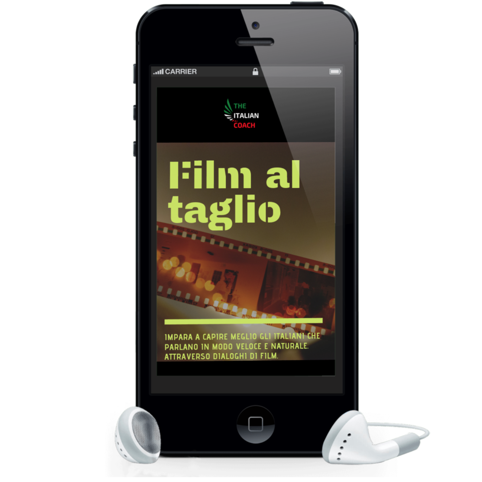 Film al taglio the italian coach