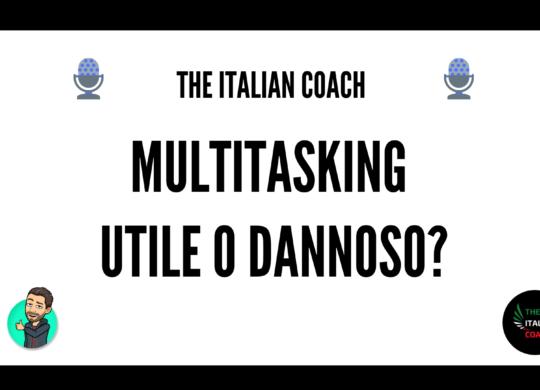 the italian coach multitasking