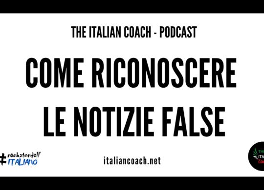 riconoscere le fake news the italian coach