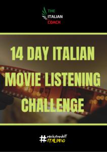 14 day italian movie listening challenge