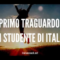 #075 Il primo traguardo di chi impara l'italiano