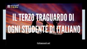 terzo traguardo imparare italiano