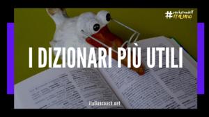 dizionari imparare italiano